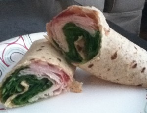 Brie Turkey Wrap