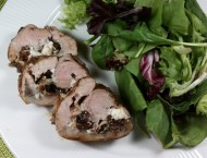 2-for-1 Stuffed Pork Tenderloin: Figs & Blue Cheese OR Cranberries & Gorgonzola