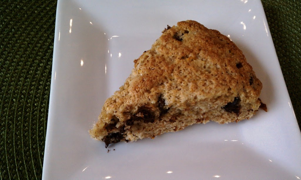 Orange Dark Chocolate Chip Scones - Emily Bites