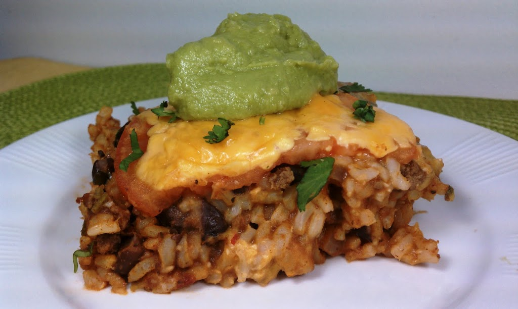 Mexican Rice Casserole - Emily Bites