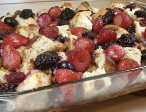 Mixed Berry French Toast Bake