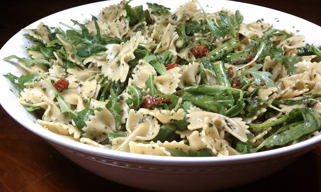 recipe: chicken asparagus sun dried tomatoes pesto [17]