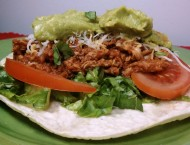 Slow Cooker Mexican Pulled Pork Tacos
