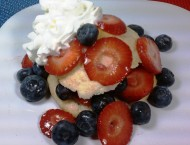 Red, White & Blueberry Shortcake