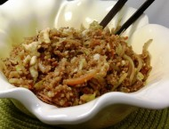 Soy Ginger Fried Couscous