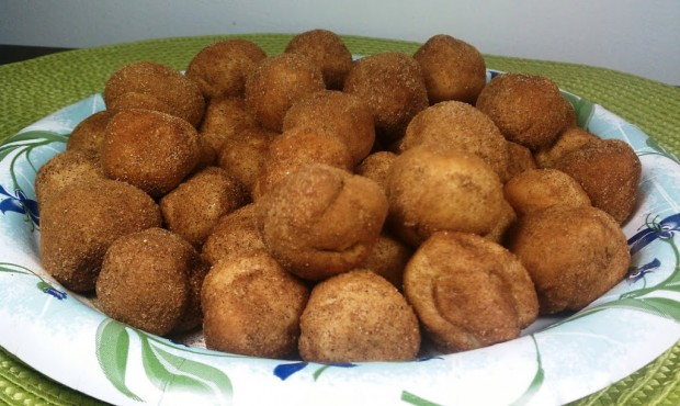 Monkey Bread Muffins prep