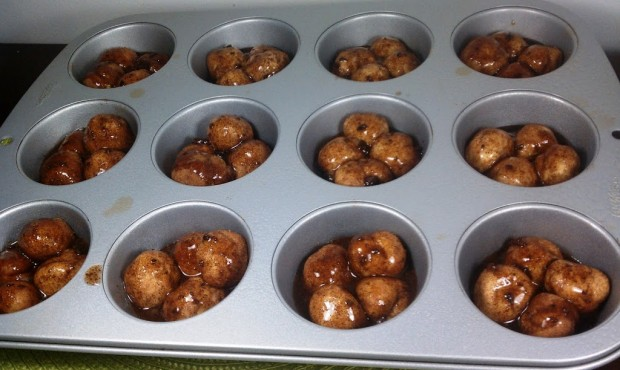 Monkey Bread Muffins Pre-cooked