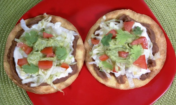 15 Minute Stacked Tostadas