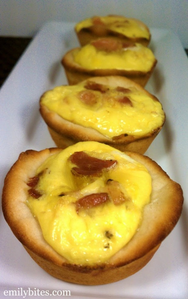 Bacon, Egg & Cheese Biscuit Cups