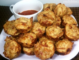 Pepperoni Pizza Mini Puffs