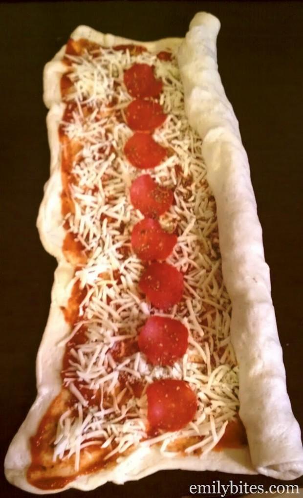 Pizza on a Stick Prep