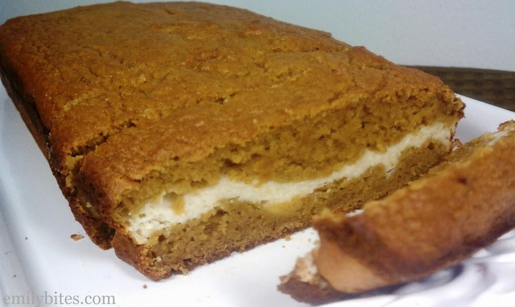 Pumpkin & Cream Bread - Emily Bites