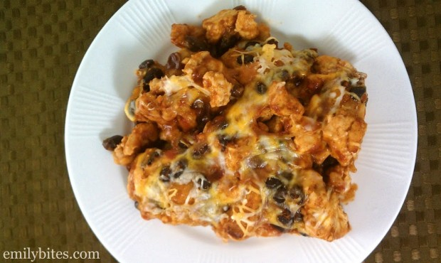 Bubble Up Enchilada Casserole