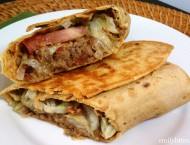 Bacon Cheeseburger Wraps
