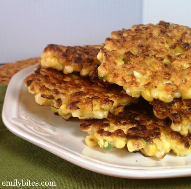Crispy Corn Fritters