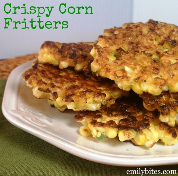 Crispy Corn Fritters