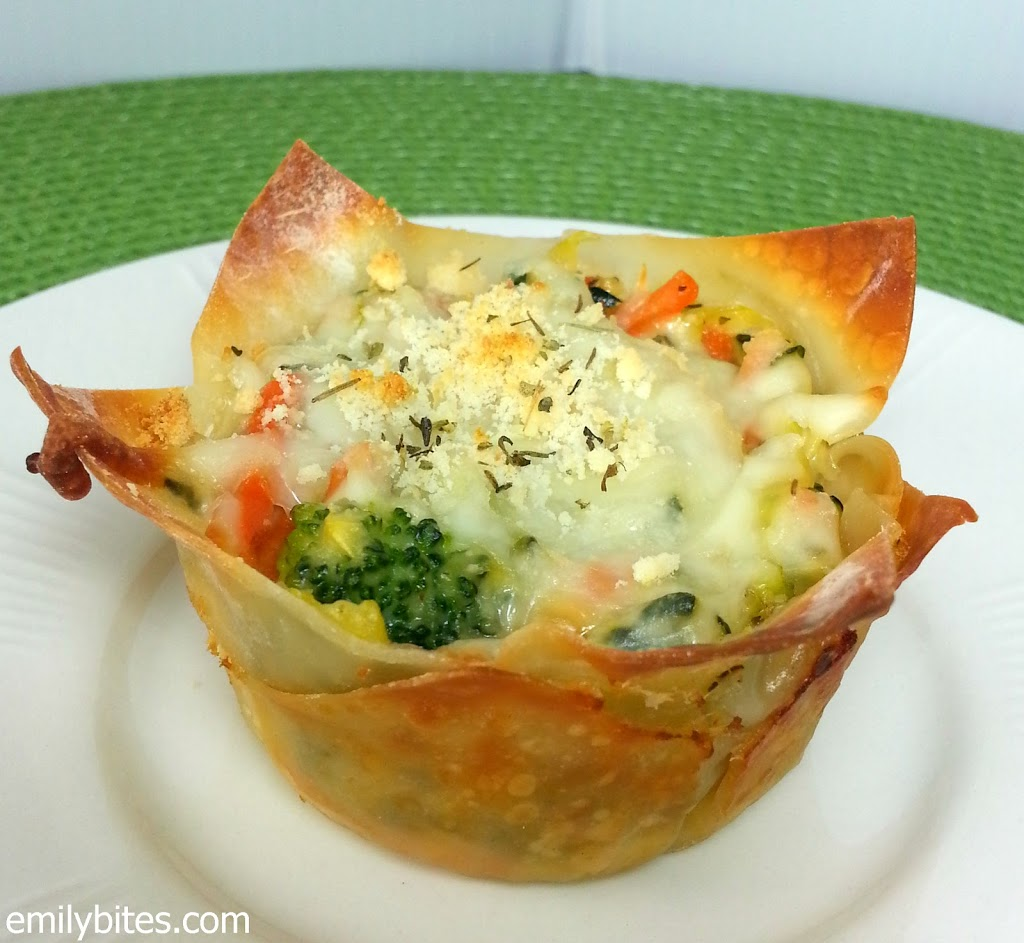 White vegetable lasagna cupcakes emily bites forumfinder Images