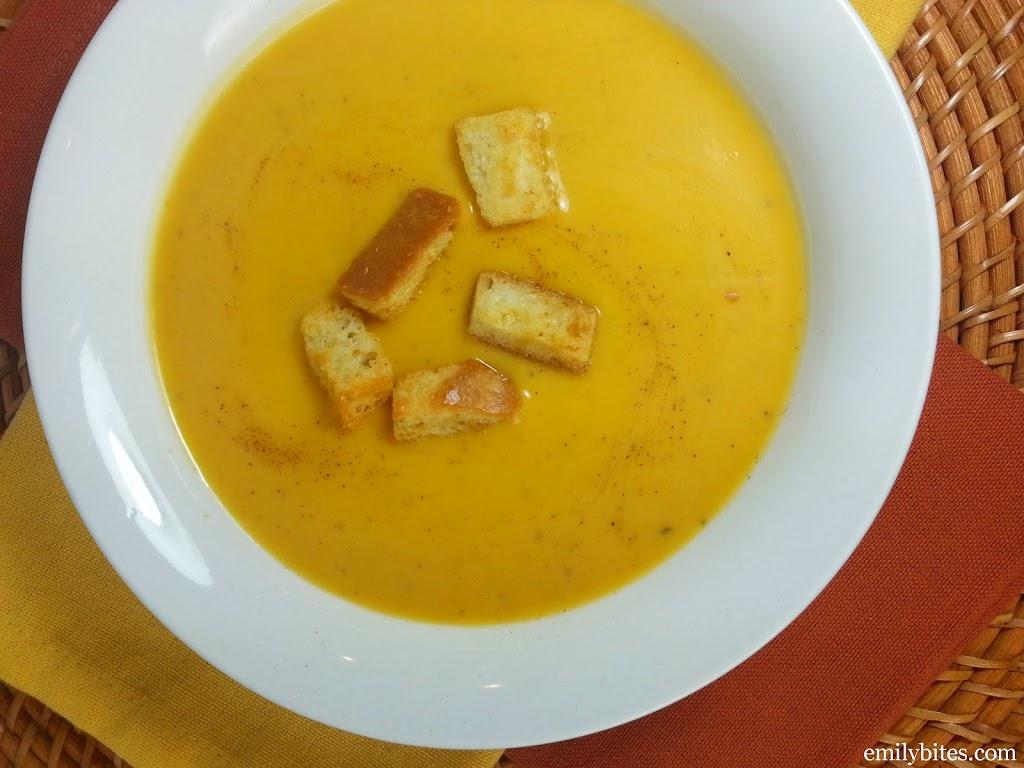 Butternut Squash Soup - Emily Bites