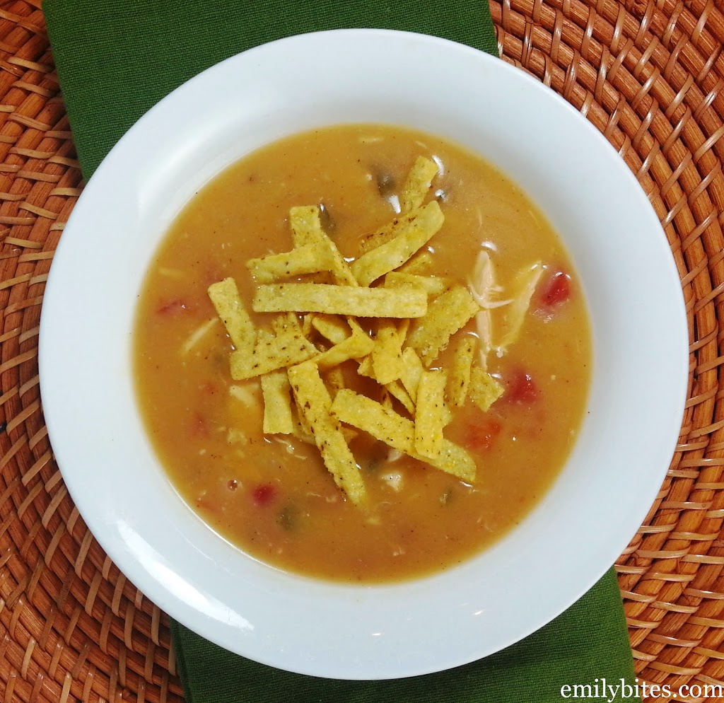 Chicken Tortilla Soup - Emily Bites