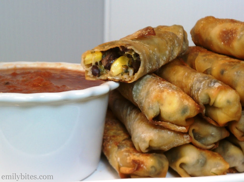 Southwestern Egg Rolls Recipe — Dishmaps