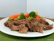 Slow Cooker Balsamic Beef