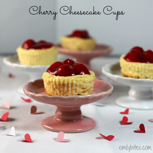 Cherry Cheesecake Cups