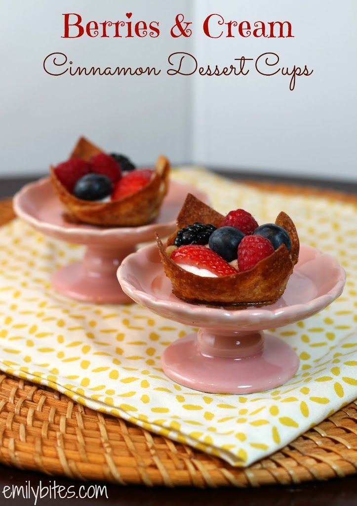 Berries cream cinnamon dessert cups emily bites forumfinder Images