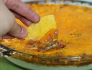 Hot and Cheesy Bean Dip