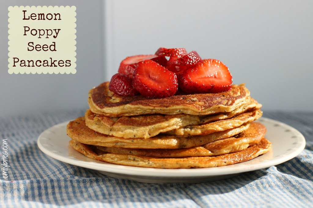 Lemon Poppy Seed Pancakes Recipe — Dishmaps