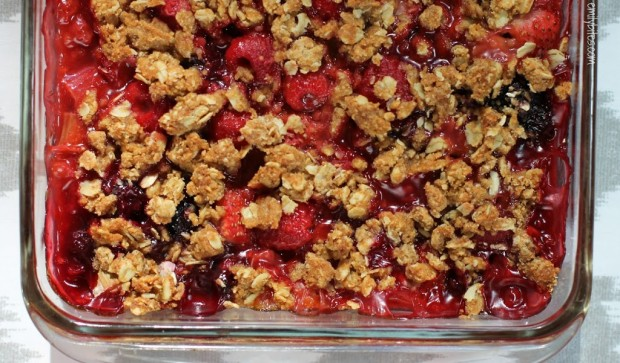 Bumbleberry Crumble