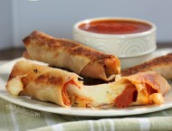 Baked Pizza Logs