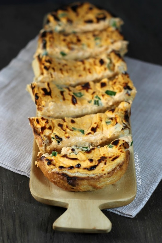 Buffalo Cheese Bread