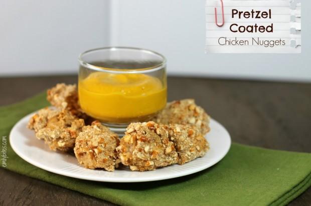 Pretzel Coated Chicken Nuggets