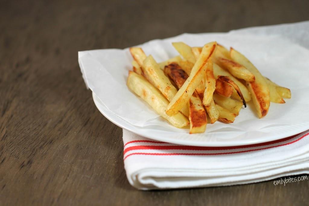 Oven Fries - Emily Bites