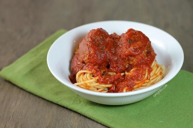 Slow Cooker Meatballs and Marinara