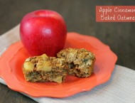Apple Cinnamon Baked Oatmeal Singles