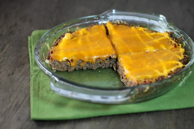 Cheeseburger Meatloaf Pie