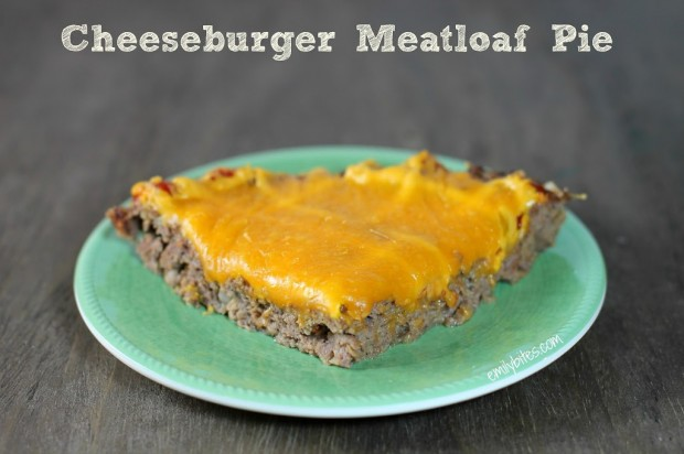 Cheeseburger Meatloaf Pie