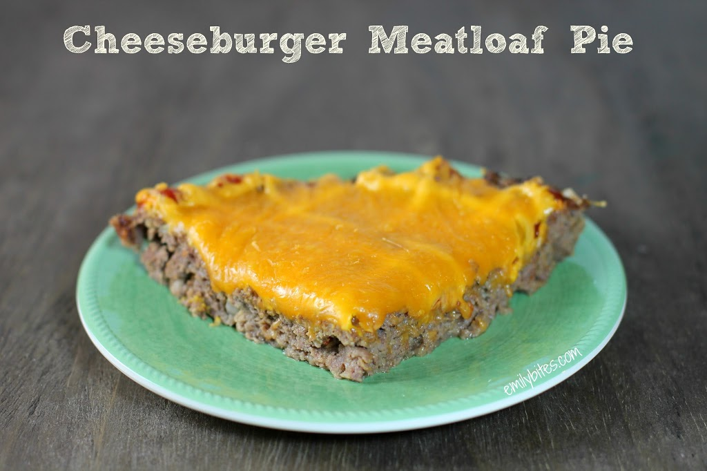 Cheeseburger Meatloaf Pie - Emily Bites