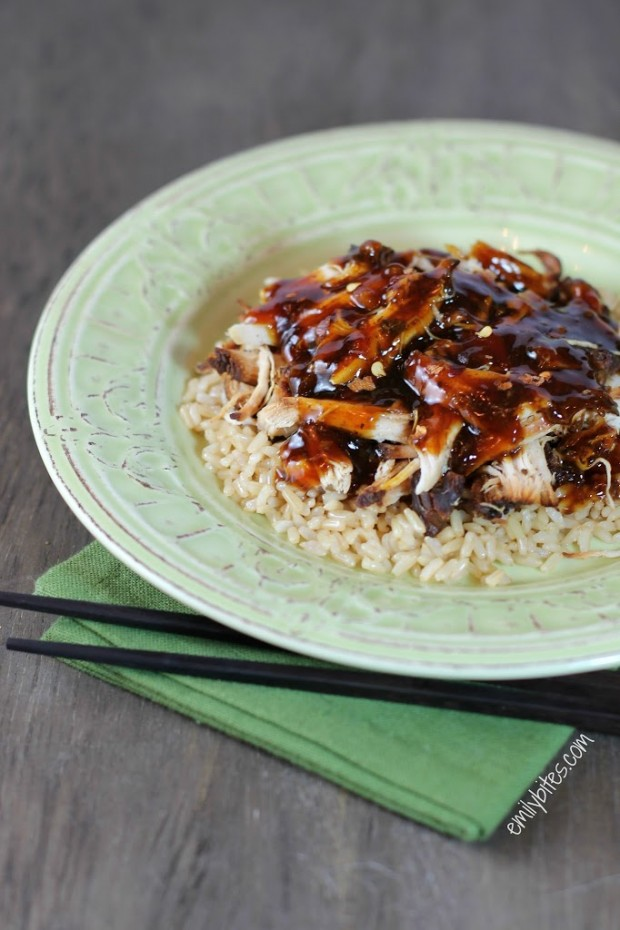 Slow Cooker Sweet and Tangy Chicken