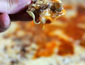 Beefy Enchilada Skillet Dip