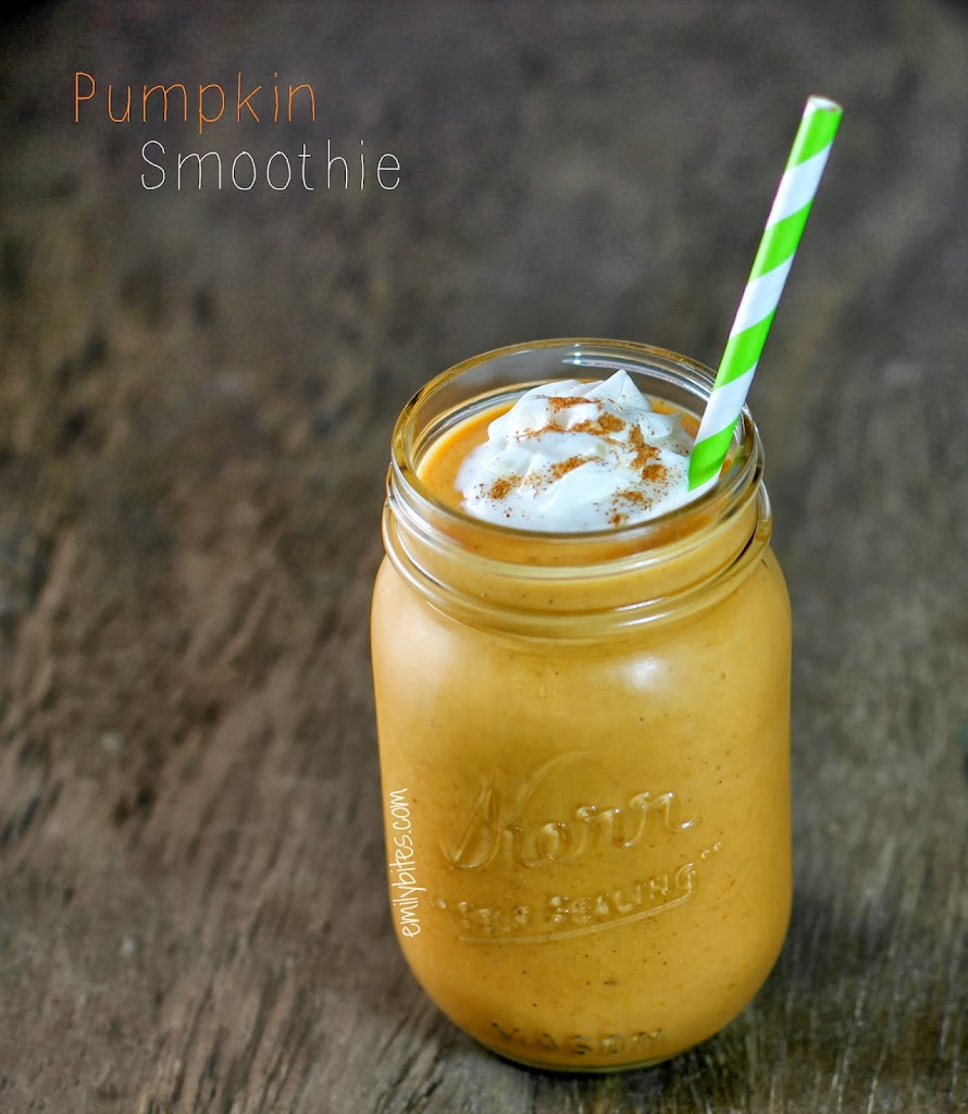 Pumpkin Smoothie - Emily Bites
