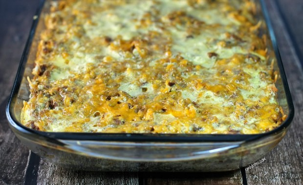 Sausage and Stuffing Brunch Bake