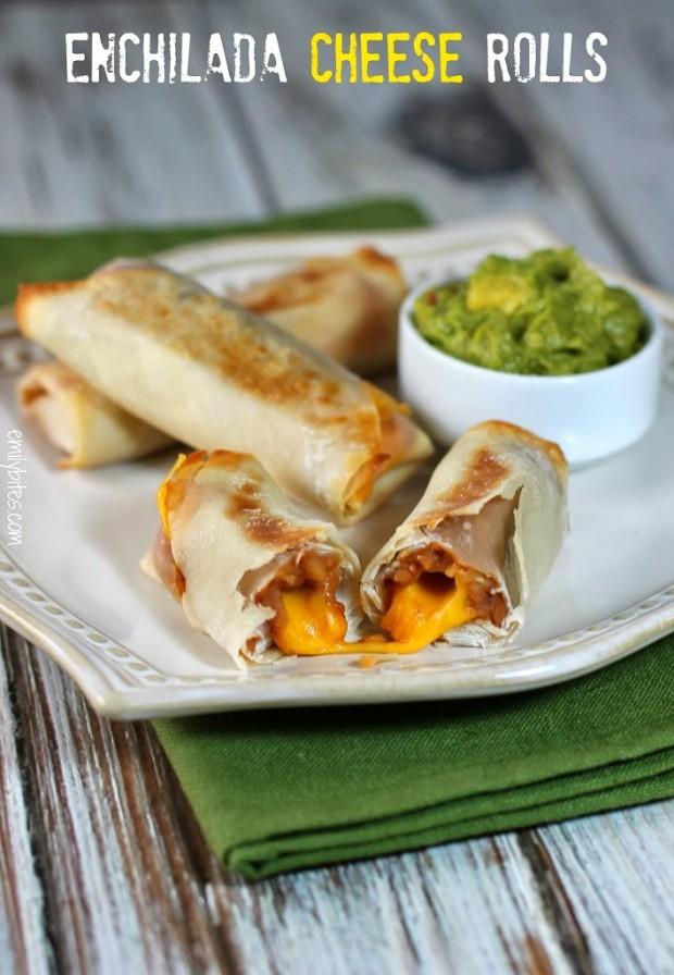 Enchilada Cheese Rolls