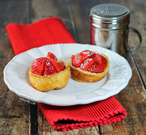 Mini Dutch Baby Pancakes