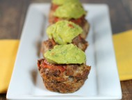 Mexi Meatloaf Muffins