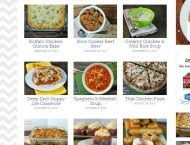 Emily Bites recipe categories
