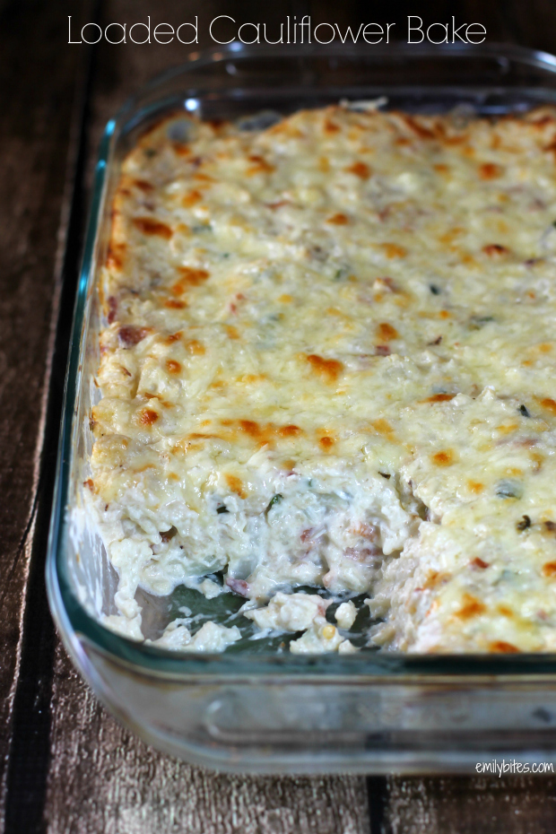 Loaded Cauliflower Bake