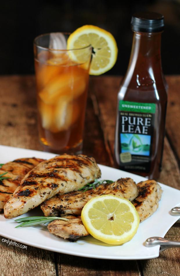 Lemon Pepper Iced Tea Chicken