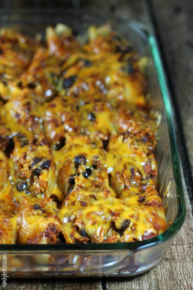 Chicken Enchilada Stuffed Shells